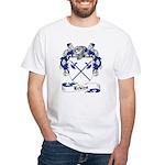 Eckles Family Crest White T-Shirt