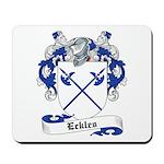 Eckles Family Crest Mousepad
