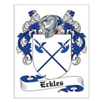 Eckles Family Crest Small Poster