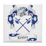 Eckles Family Crest Tile Coaster