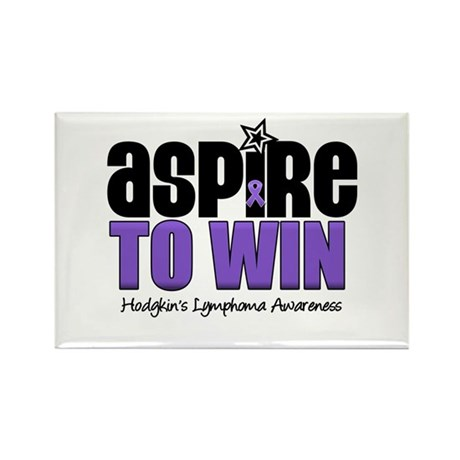 Aspire to Win (HL) Rectangle Magnet (10 pack)