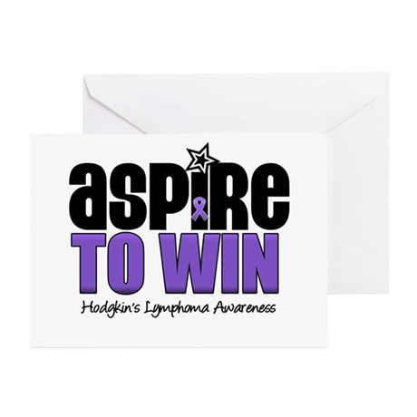 Aspire to Win (HL) Greeting Cards (Pk of 10)