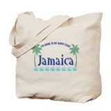 Jamaica Happy Place - Tote or Beach Bag