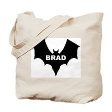 BLACK BAT BRAD Tote Bag