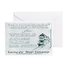 Carnegie Steel 1890 Greeting Card