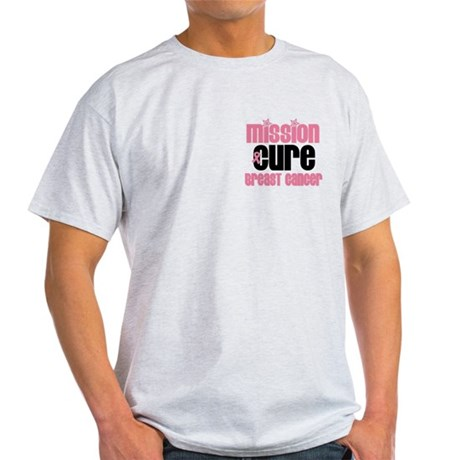 Mission Cure Breast Cancer Light T-Shirt