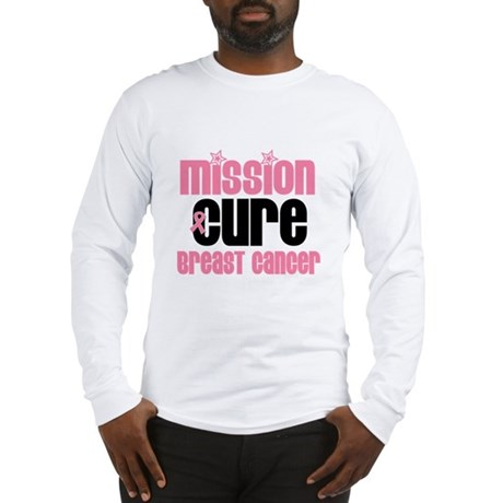 Mission Cure Breast Cancer Long Sleeve T-Shirt
