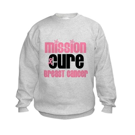 Mission Cure Breast Cancer Kids Sweatshirt