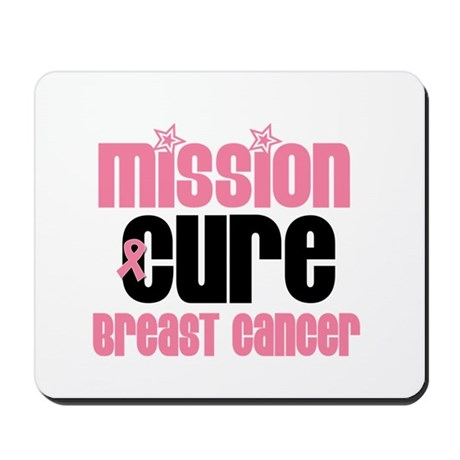 Mission Cure Breast Cancer Mousepad