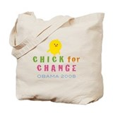 Chick for Change Tote Bag
