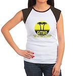 Gitmo Palms Women's Cap Sleeve T-Shirt