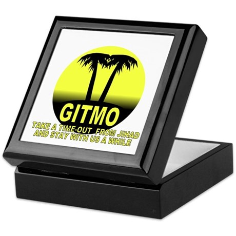 Gitmo Palms Keepsake Box