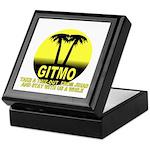 Gitmo Palms Keepsake Box