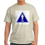 Top Ash Grey T-Shirt