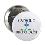 Catholic Bible Church 2.25&quot; Button (100 pack)