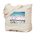 Beach View from the Top Tote Bag