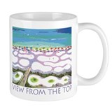 Beach View from the Top Mug