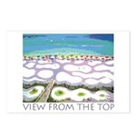 Beach View from the Top Postcards (Package of 8)