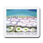 Beach View from the Top Mousepad