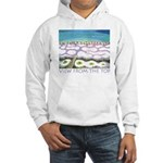 Beach View from the Top Hooded Sweatshirt