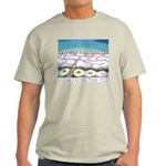 Beach View from the Top Light T-Shirt