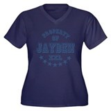 Property of Jayden Personalized Women's Plus Size