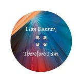 "TOP I Am Runner 3.5"" Button"