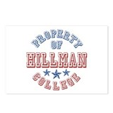Hillman College Property Of Postcards (Package of