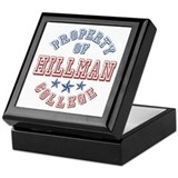 Hillman College Property Of Keepsake Box
