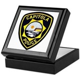 Capitola Police Keepsake Box