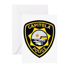 Capitola Police Greeting Cards (Pk of 20)