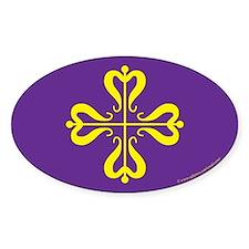 Calontir Ensign Oval Sticker