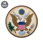 "Presidents Seal 3.5"" Button (10 pack)"