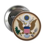 "Presidents Seal 2.25"" Button"