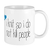 Funny Knitting Small Mug
