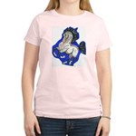 Noble Fantasy Grey horse Women's Light T-Shirt