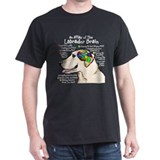 Yellow Lab Brain T-Shirt