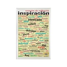 Spanish Brainstorming Rectangle Magnet (100 pack)