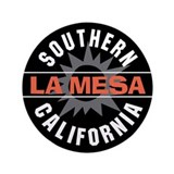 "La Mesa California 3.5"" Button (100 pack)"