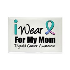 Thyroid Cancer (Mom) Rectangle Magnet (10 pack)
