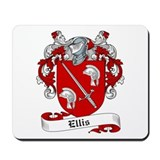 Ellis Family Crest Mousepad