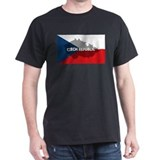 Czech Republic Flag Extra T-Shirt
