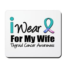 Thyroid Ribbon (Wife) Mousepad