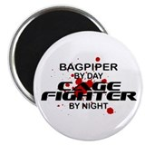 Bagpiper Cage Fighter by Night Magnet