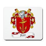 Fair Family Crest Mousepad