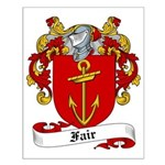 Fair Family Crest Small Poster