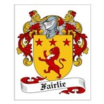 Fairlie Family Crest Small Poster