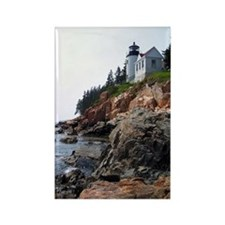 Bass Harbor Light Rectangle Magnet (10 pack)