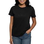 Computer Programmer Barcode Women's Dark T-Shirt