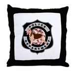 K9 Cops Throw Pillow